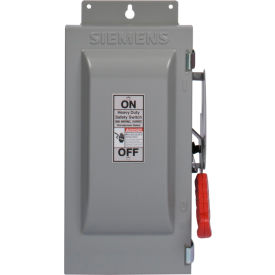 Siemens HNF366J Safety Switch 600A, 3P, 600V, 3W, Non-Fused, HD, Type 12