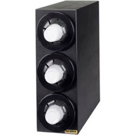 Beverage Cabinet, (3) Cup Dispensers, Black by