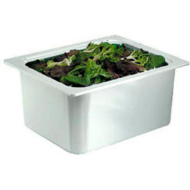 """Chill It™ Food Pan, 1/2 Size, 6"""" Deep, White"""