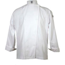 Knife & Steel®Chef'S Jacket, Large, Cloth Knot, Poly Cotton Blend