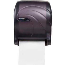 San Jamar® Tear-N-Dry Essence Oceans Towel Dispenser - Black T8090TBK