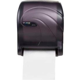 San Jamar® Tear-N-Dry Essence Oceans Towel Dispenser - Black T8090TBK
