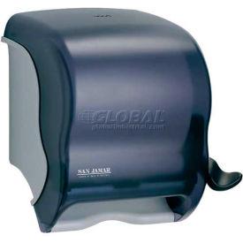 San Jamar Element™ Lever Roll Towel Dispenser, Classic, Transparent Black Pearl - T950TBK