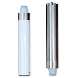 Pull-Type Portion Cup Dispensers, Stainless Steel
