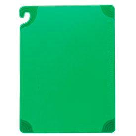"""Saf-T-Grip® Cutting Boards, Green, 12""""H x 18""""W x 1/2""""D"""