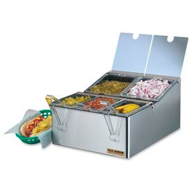San Jamar® FP9125FL EZ-Chill™ Self-Service Condiment Center