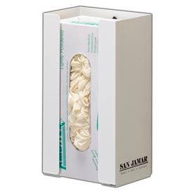 Disposable Glove Dispensers, 1 box capacity white