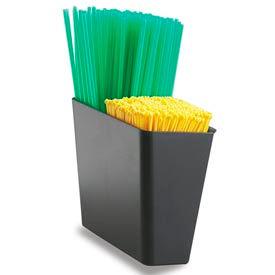 """Stir Stick/Straw Caddy, 4 1/2""""h x 5""""w x 3""""d"""