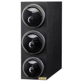 EZ-Fit® Lid Dispenser Box Sys., 22-3/8 Hx7-3/4 Wx25 D, Blk Trim Rings