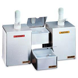 Pump & Condiment Tray Centers, 2 Pumps & 2 Inserts