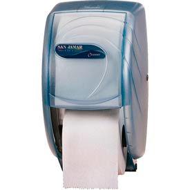 San Jamar® Oceans® Duett Standard Tissue Dispenser - Blue - R3590TBL