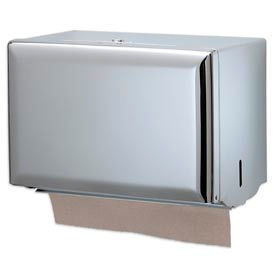 San Jamar® Singlefold Towel Dispensers - Chrome