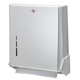 San Jamar® TrueFold® C-fold/Multifold Towel Dispenser - White - T1905WH