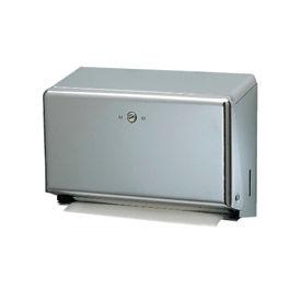 San Jamar® Mini C-fold/Multifold Towel Dispenser - Chrome - T1950XC