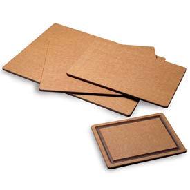 Tuff-Cut® Cutting Boards, 12 x 18 x 1/2, with groove