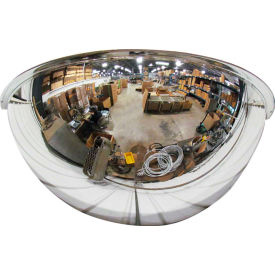 "Se-Kure™ Half Dome Mirror, 26"" Diameter - Pkg Qty 2"