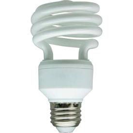 Sunlite® 00686-SU SMS18/65K 18W Super Mini Spiral CFL Light Bulb, Medium Base, Daylight