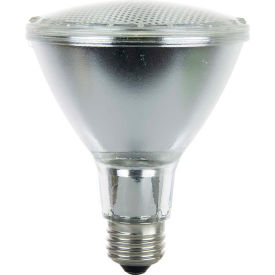 Sunlite 26065-SU 60PAR30/LN/HAL/FL 60W PAR30 Long Neck Reflector Halogen Bulb, Medium Base - Pkg Qty 15
