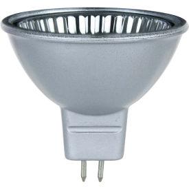 Sunlite 66005-SU 20MR16/CG/FL/12V/SB 20W Silver Back MR16 Mini Reflector Halogen Bulb, GU5.3 Base - Pkg Qty 12
