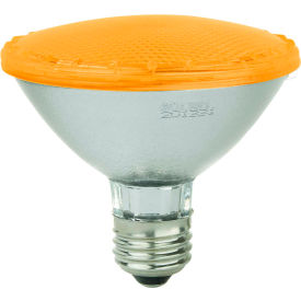 Sunlite 80033-SU PAR30/LED/3W/A 3W PAR30 Colored Reflector, Medium Base Bulb, Amber - Pkg Qty 12