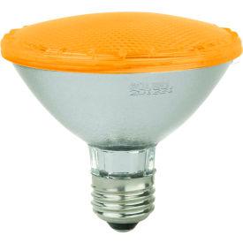 Sunlite 80033-SU PAR30/LED/3W/A 3W PAR30 Colored Reflector, Medium Base Bulb, Amber - Pkg Qty 12