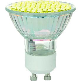 Sunlite 80329-SU MR16/LED/2.8W/GU10/Y 2.8W MR16 Colored Mini Reflector, GU10 Base Bulb, Yellow - Pkg Qty 12