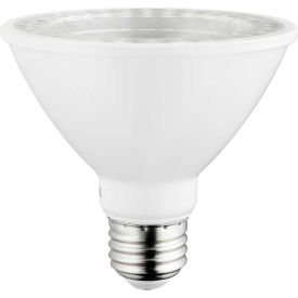 Sunlite 80947-SU PAR30/LED/10W/S/FL35/D/E/40K LED PAR30 Short Neck, 10W, Med Base, 750 Lumens, 4000K - Pkg Qty 6