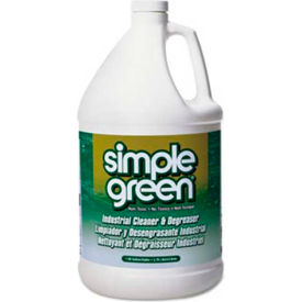 Simple Green All Purpose Industrial Strength Cleaner/Degreaser, Gallon Bottle 6/Case - SPG13005CT