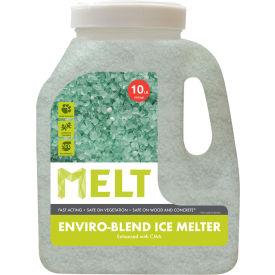 MELT 10 Lb. Jug Premium Enviro Blend Ice Melter w/CMA - MELT10EB-J