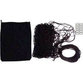 """Snap-Loc SLAMCN96192 Military Cargo Net 96""""x192"""", Cinch Rope, 12 Snap-Hook Carabiner & Storage Bag"""