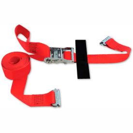 "Snap-Loc® SLTE216RRI E-Strap 2""X16' Ratchet Red (Import) With Hook & Loop Storage Fastener"