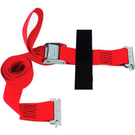 "Snap-Loc® SLTC208CR Cinch Strap 2""X8' Cam Red With Hook & Loop Storage Fastener"