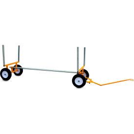 "Snap-Loc™ Lumber & Bar Cart SLV2000LPCY - 10"" Airless Wheels"