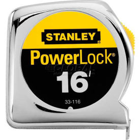 "Stanley 33-116 PowerLock Tape Rule 3/4"" x 16"