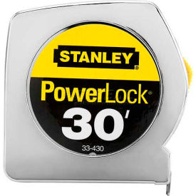 "Stanley 33-430 PowerLock Classic Tape Rule 1"" x 30"