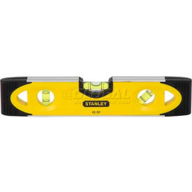 Stanley 43-511 Shock-Resistant Magnetic Torpedo Level, 9""