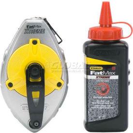 Stanley 47-487L 47-487l, Fatmax Xtreme® Chalk Line Reel W/4 Oz. Red Chalk