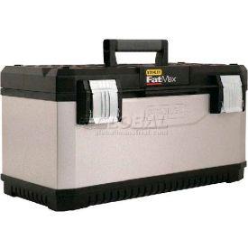 "Stanley® Fmst20061, Fatmax® 20"" Metal/Plastic Tool Box - Pkg Qty 4"