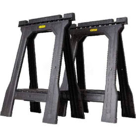 Stanley STST60952 Junior Folding Sawhorse Twin Pack - Pkg Qty 4
