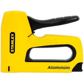 Stanley TR150 Heavy-Duty Aluminum Staple Gun W/ Easy Squeeze Handle by
