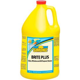 Simoniz® Brite Plus Glass, Window, and All Purpose Cleaner Gallon Bottle, 4/Case - B0405004