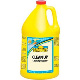 Simoniz® Clean Up Ready-To-Use Liquid Cleaner/Degreaser Gallon Bottle, 4/Case - C0590004