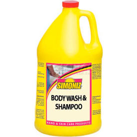 Simoniz® Cool Blue Foaming Hand Soap & Body Wash 1000 ml, Pkg Qty 8 - S3363012