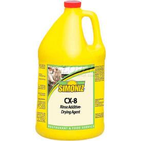 Simoniz® CX-8 Rinse Additive-Drying Agent Gallon Bottle, 4/Case - C0710004