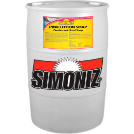 Simoniz® Pink Lotion Soap 55 Gallon, Pkg Qty 1 - CS0225055