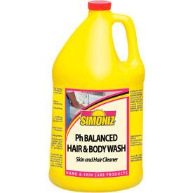 Simoniz® pH-Balanced Hair & Body Wash 1 Gallon, Pkg Qty 4 - CS0285004