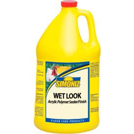Simoniz® Wet Look Acrylic Floor Sealer Finish Gallon Bottle, 4/Case - CS07400004
