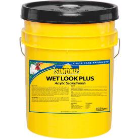 Simoniz® Wet Look Plus Acrylic Floor Sealer/Finish, 5 Gallon Pail - CS07500005