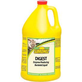Simoniz® Digest Enzyme-Producing Bacterial Liquid Gallon, Pkg Qty 4 - D0860004
