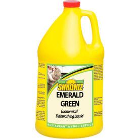 Simoniz® Emerald Green Economical Dishwashing Liquid Gallon Bottle, 4/Case - E0985004